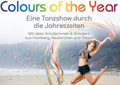 Colors of the year – Eine Tanzshow durch die Jahreszeiten